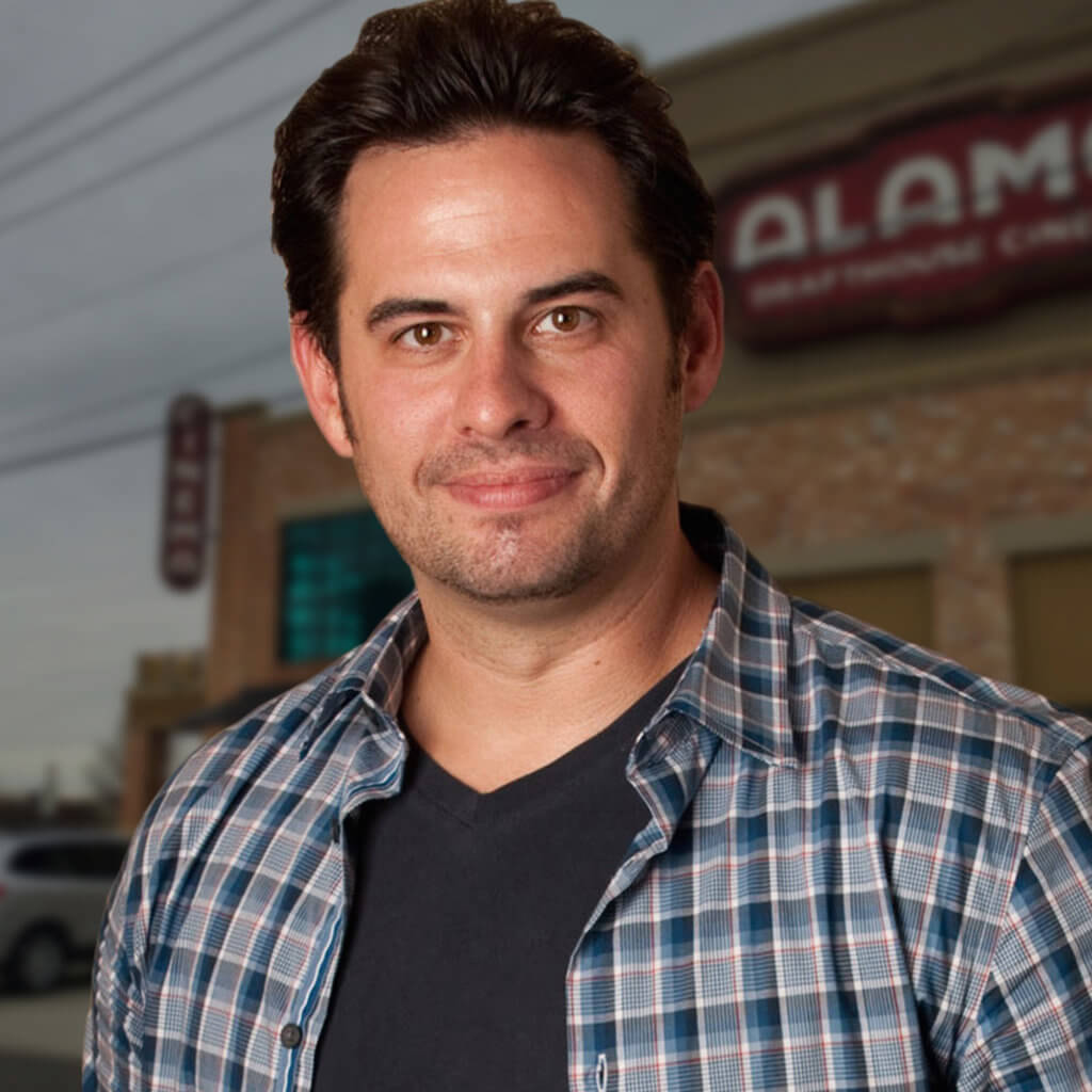 Bill DiGaetano, Alamo Drafthouse Cinema, Hempkins Insurance Client