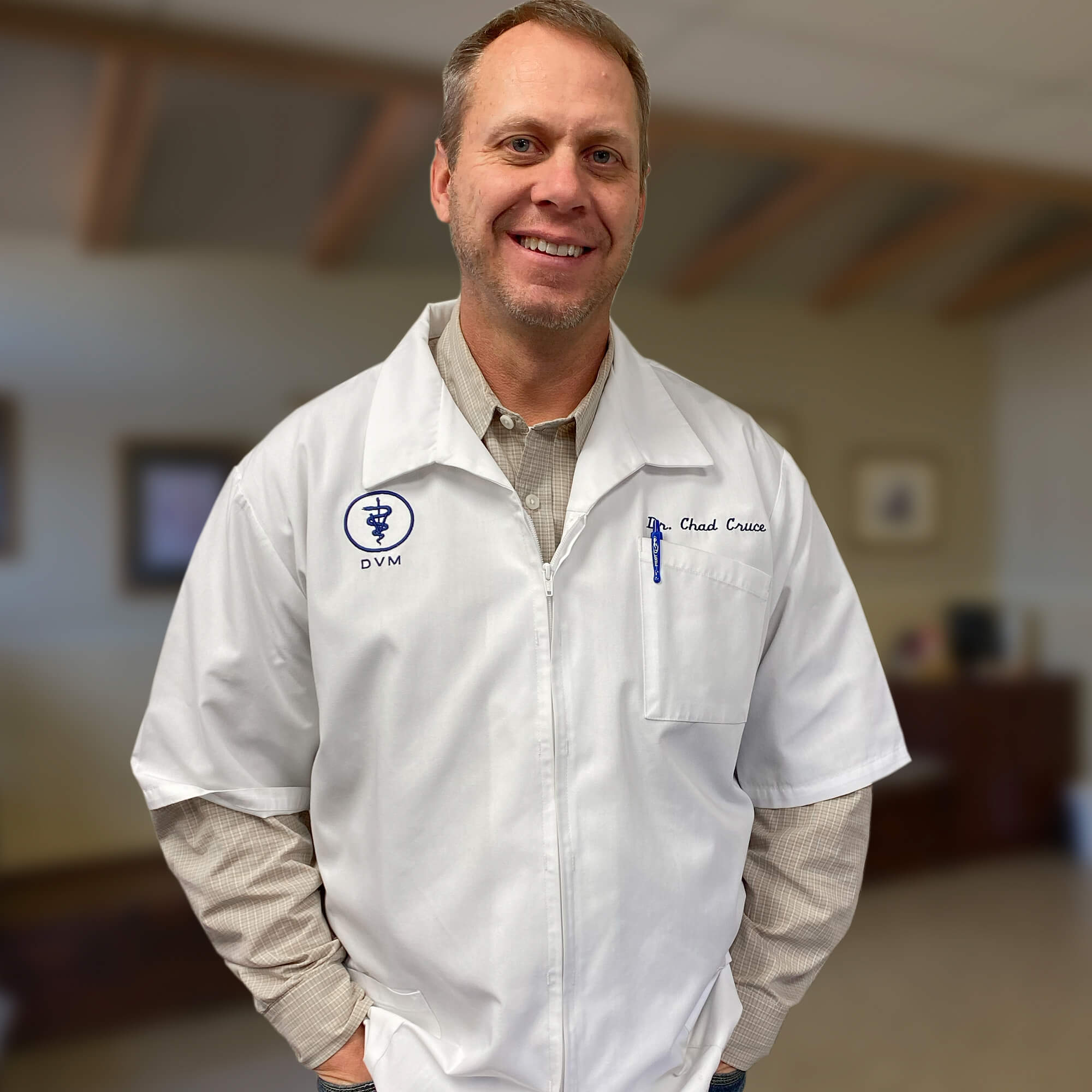 Dr. Chad Cruce, Animal Hospital of Denison, Hempkins Insurance Client