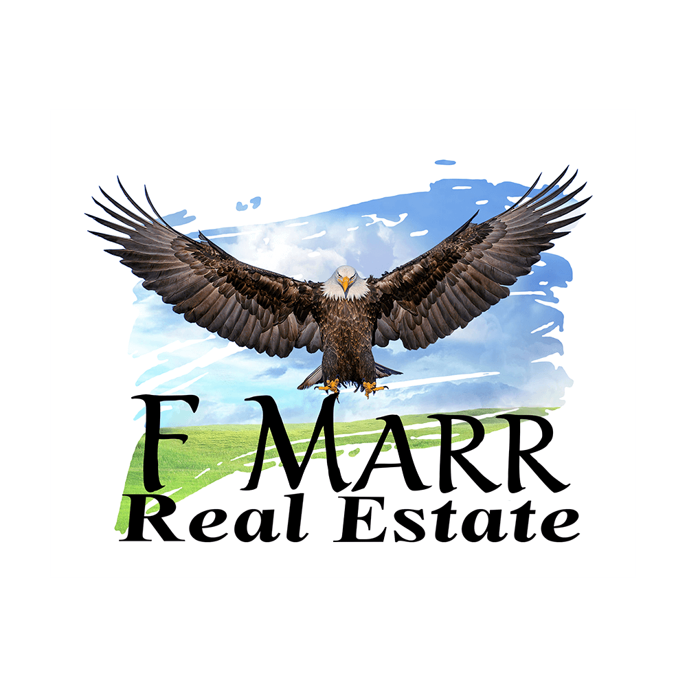 F Marr Real Estate Logo, Hempkins Insurance Client