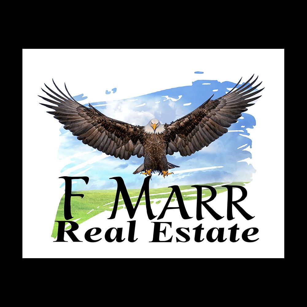 F Marr Real Estate Logo, Hempkins Insurance Client